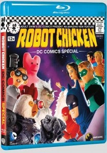 ROBOT CHICKEN DC COMICS SPECIAL on Blu-Ray