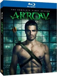 Blu-Ray packaging for The CW's Arrow