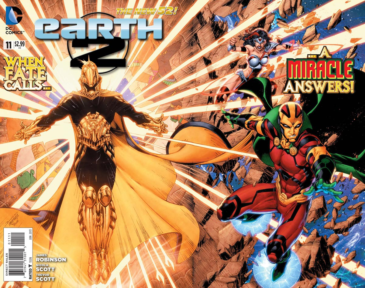 Earth 2 Spoilers: Gatefold Cover Reveals Character Missing Since ...