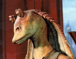 Jar-Jar Binks in Star Wars Episode I: The Phantom Menace