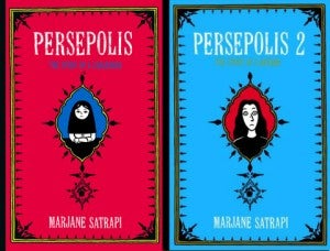 Persepolis book covers