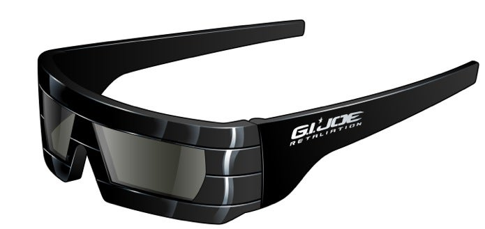 RealD GI Joe glasses front left view CDM