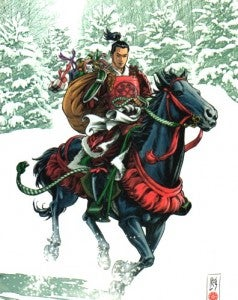 SAMURAI: HEAVEN AND EARTH by Ron Marz and Luke Ross