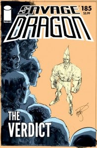 Savage Dragon #185, cover