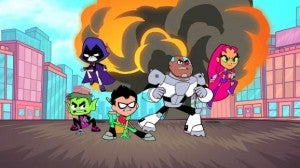 Teen Titans Go! Key Art