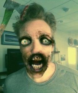 Conan O'Brien Zombie The Walking Dead