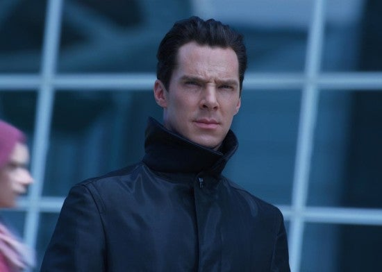 Benedict Cumberbatch in Star Trek Into Darkness