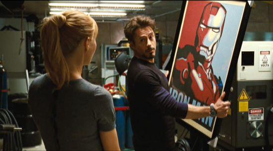 iron Man 2 Hope poster
