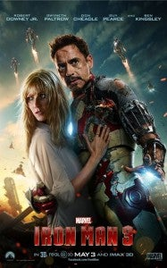 Iron Man 3 with Pepper Potts Poster