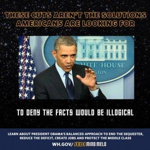 "POTUS-generated ""Jedi Mind Meld"" meme image"