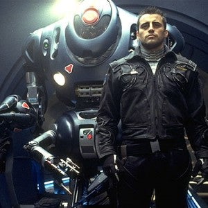 Matt LeBlanc and a big damn robot in Lost in Space