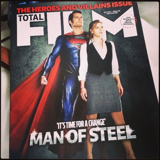 Man Of Steel And Lois Lane Together On New Magazine Cover