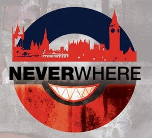 Neverwhere poster from Sacred Fools in LA