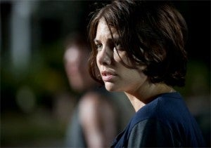Talking Dead Lauren Cohan