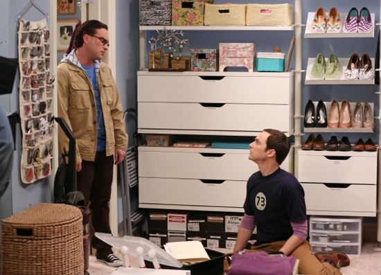 The Big Bang Theory The Closet Reconfiguration