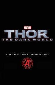 Thor the Dark World Comic Book Prelude Cover