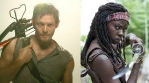 The Walking Dead Daryl & Michonne