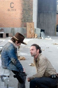 Walking Dead Season 3 finale Rick Carl