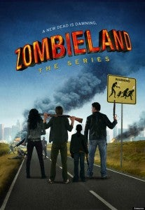ZOMBIELAND TV series poster from Amazon Studios