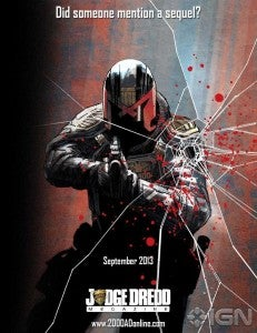 Dredd 3D Comic Book Sequel