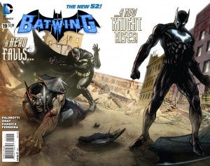 Batwing #19 cover