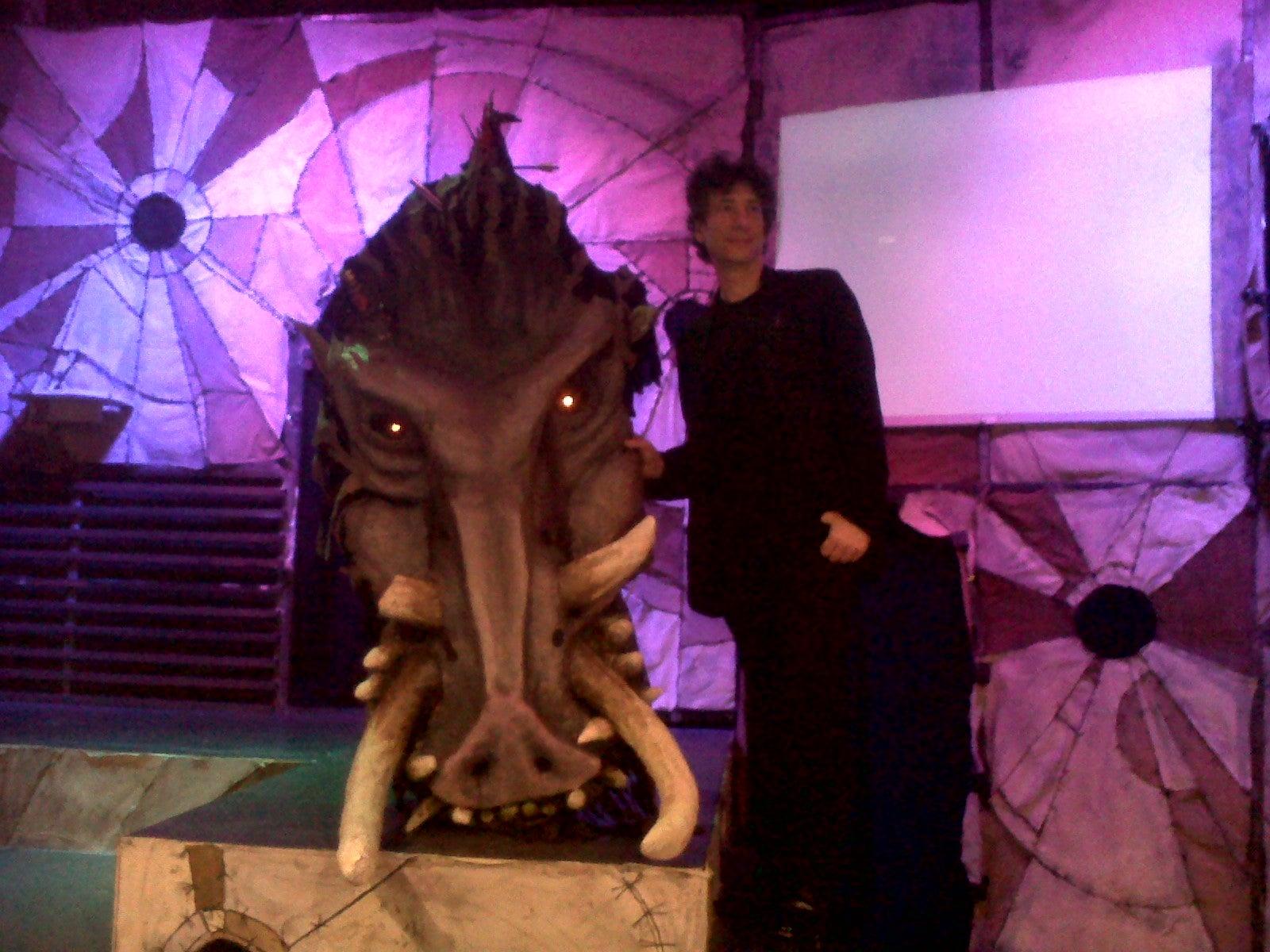 gaiman-and-the-beast