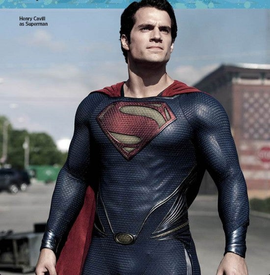 Man of Steel: New Images Appear in EW's Summer Preview