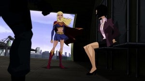 Lois Lane and Supergirl in Superman: Unbound