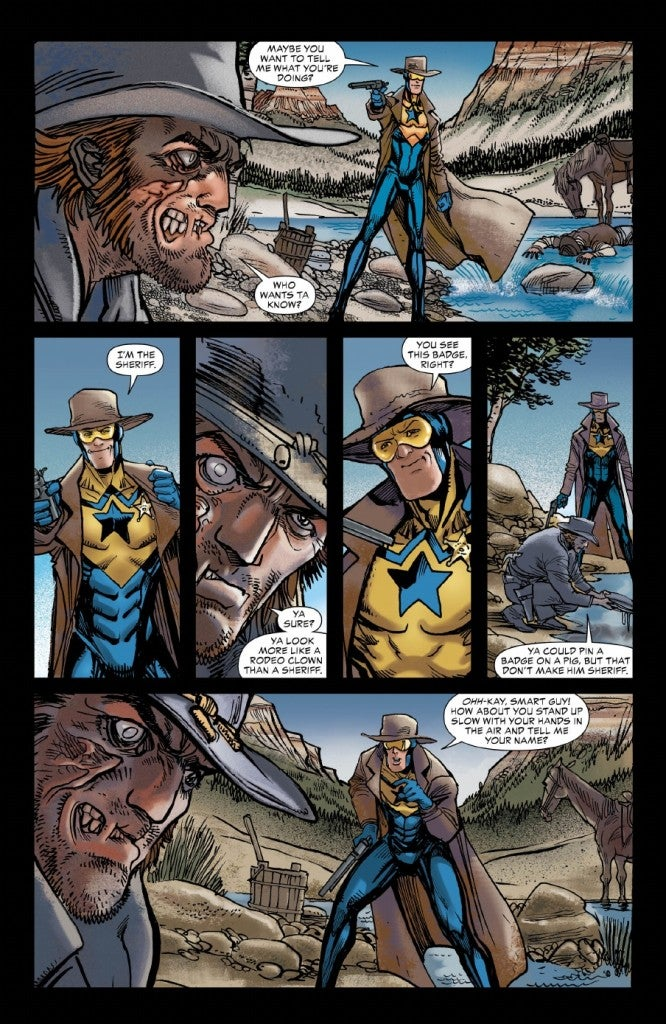 All-Star Western #19 Preview Pages