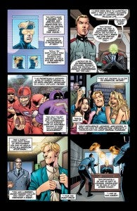 Booster Gold #40 Preview pages