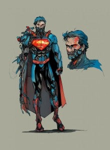 Cyborg Superman by Kenneth Rocafort
