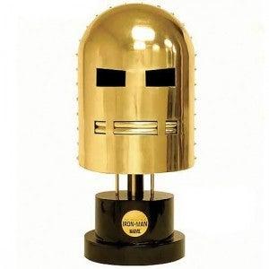 Gold Iron Man Helmets