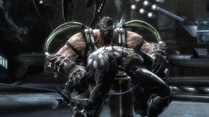 Batman and Bane in INJUSTICE: GODS AMONG US for iOS