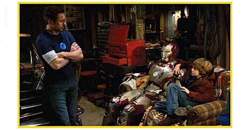 Iron Man 3 Exclusive: Ty Simpkins Talks Cut Kiss Scene & 3