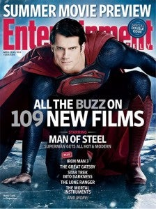 Man of Steel Entertainment Weekly