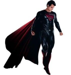 Man Of Steel hovering
