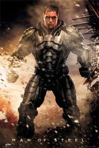 Man Of Steel Print Zod explosion