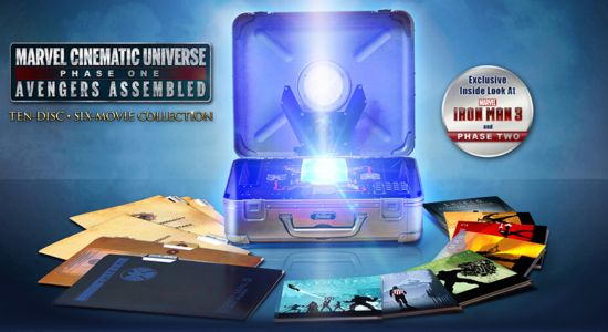 Marvel Cinematic Universe Box Set Phase 2 Video Previews Iron Man 3