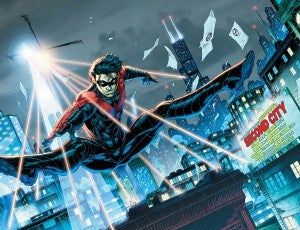 Nightwing #19 Preview page