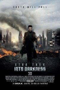 Star Trek Into Darkness Cumberbatch poster
