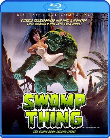 Swamp Thing Headed to Blu-Ray