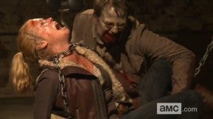 Walking Dead Andrea Alternat Death Scene