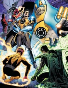 Sinestro Corps revealed