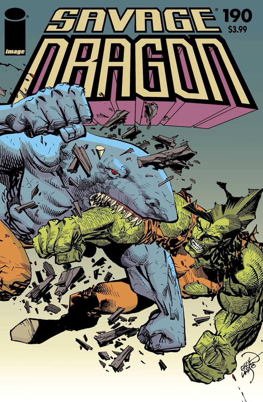 Savage Dragon Creator Larsen Shares Digest-Size Process With Fans