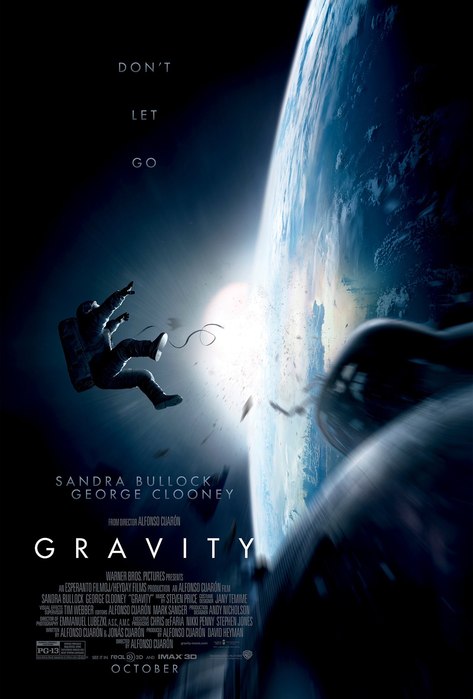 Gravity Trailer From Harry Potter and the Prisoner of Azkaban Director