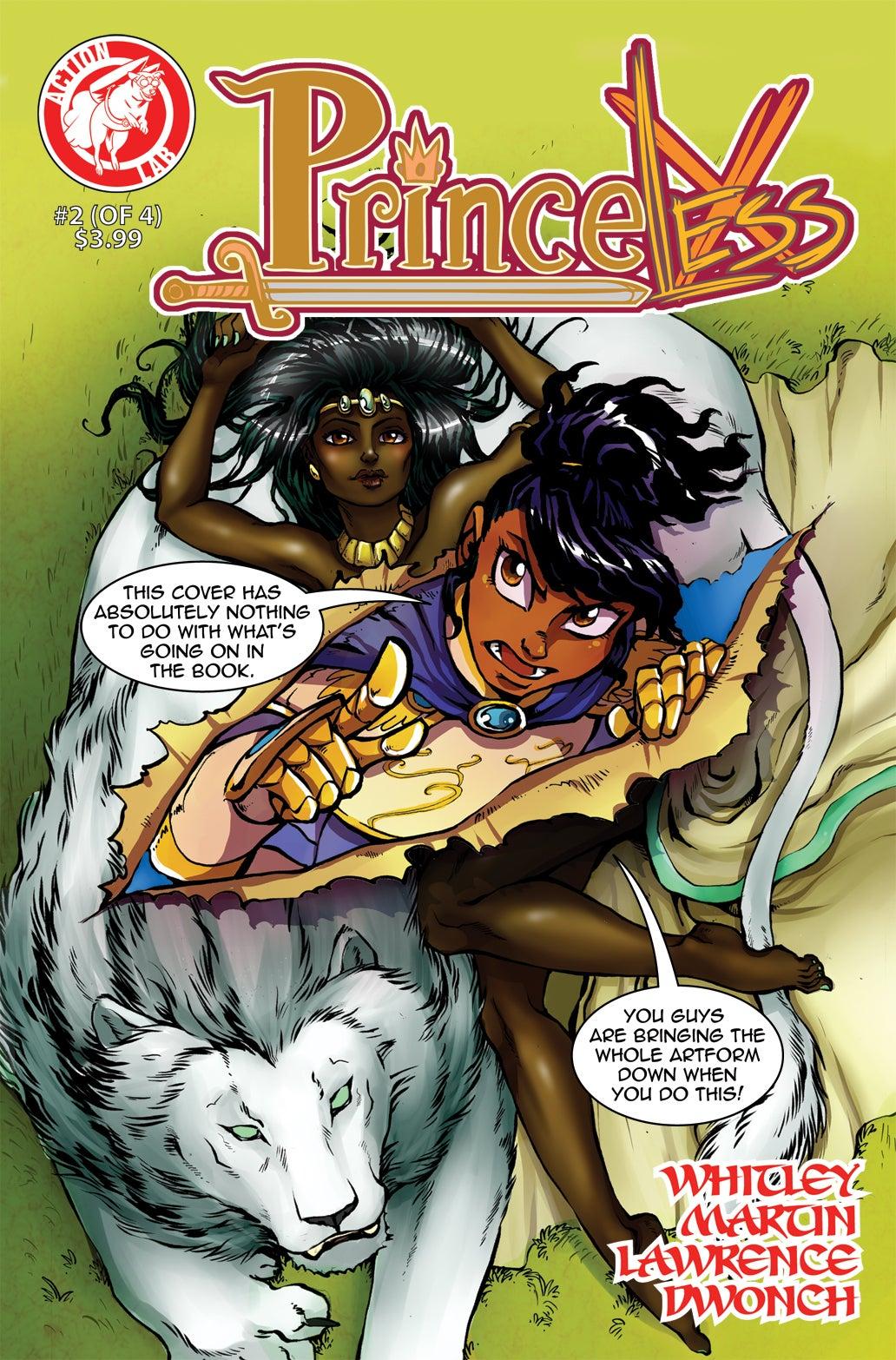 Princeless 2 cover