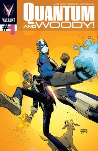 Quantum & Woody #1 Preview