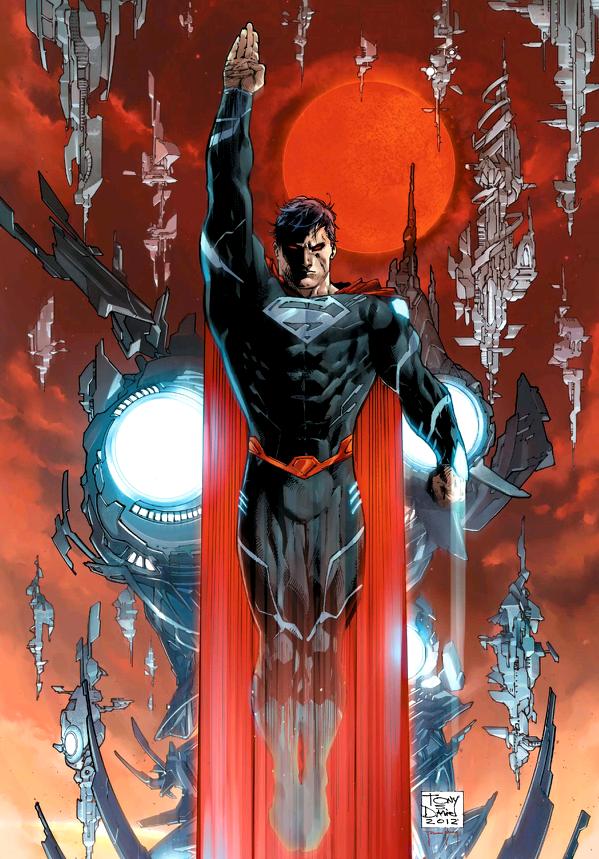 Superman Rises Black-costume-superman