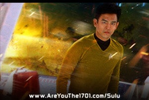 Hikaru Sulu Star Trek Into Darkness