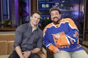 Chris Evans and Kevin Smith on The Tonight Show with Jay Leno